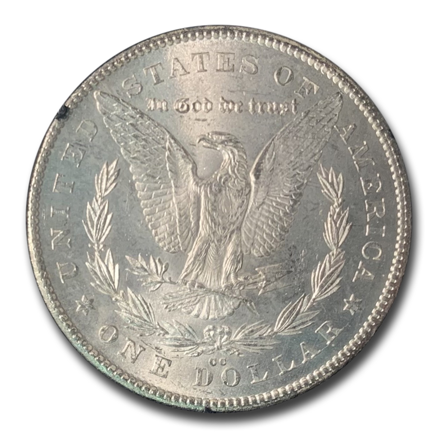 1878-CC Morgan Dollar MS-63 PCGS (GSA)